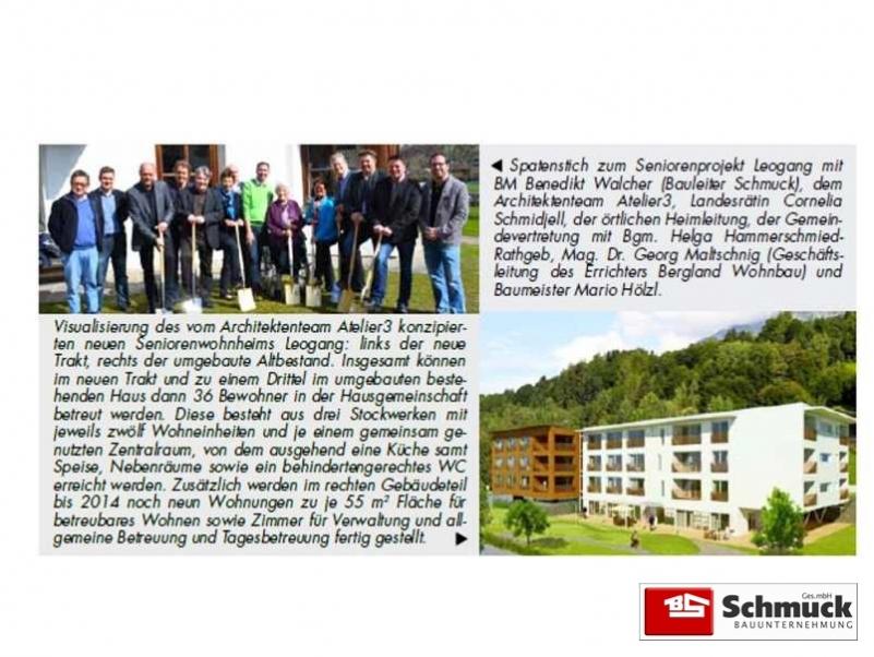 Platzhirsch Reportage | Bauunternehmung Schmuck GmbH