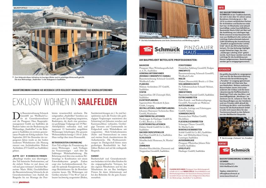 Presseberichte | Bauunternehmung Schmuck GmbH